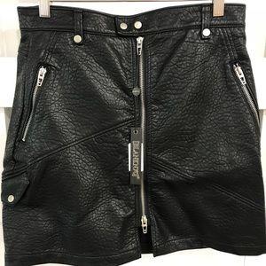 BlankNYC Vegan Leather Skirt